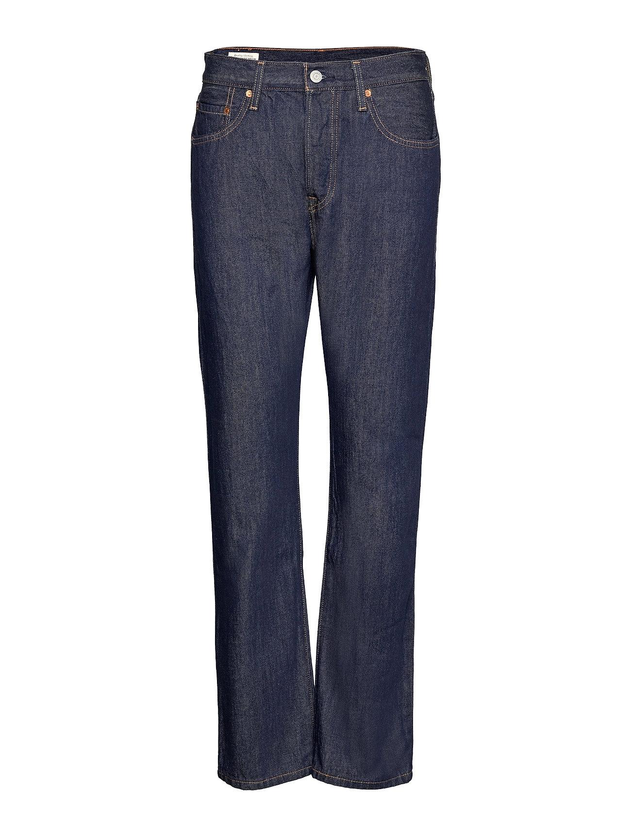 501 Jeans For Women Across A P Lige Jeans Blå LEVI´S Women
