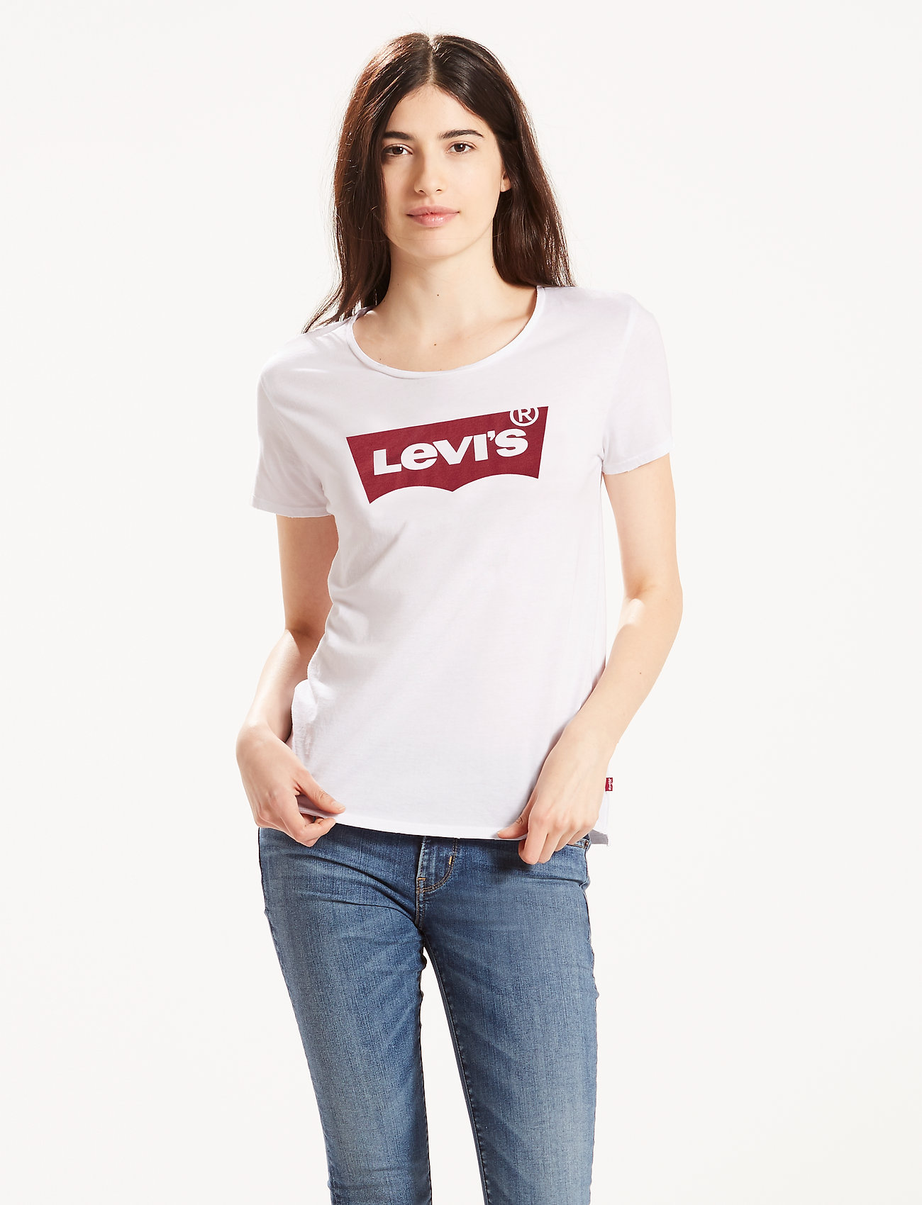 LEVI´S Women - THE PERFECT TEE LARGE BATWING - t-shirts - neutrals - 0