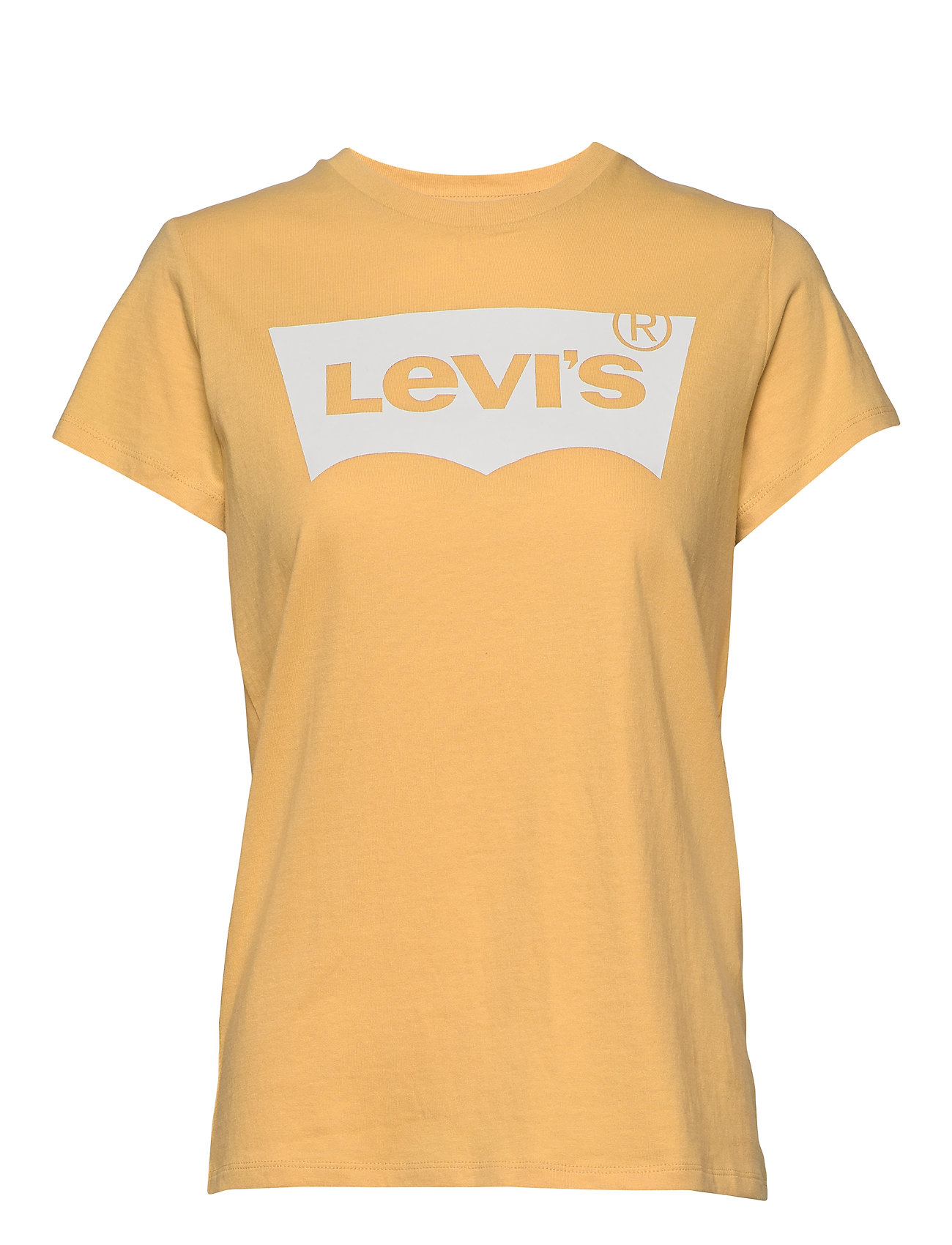 LEVI´S Women THE PERFECT TEE BW T2 OCHRE GR - YELLOWS/ORANGES