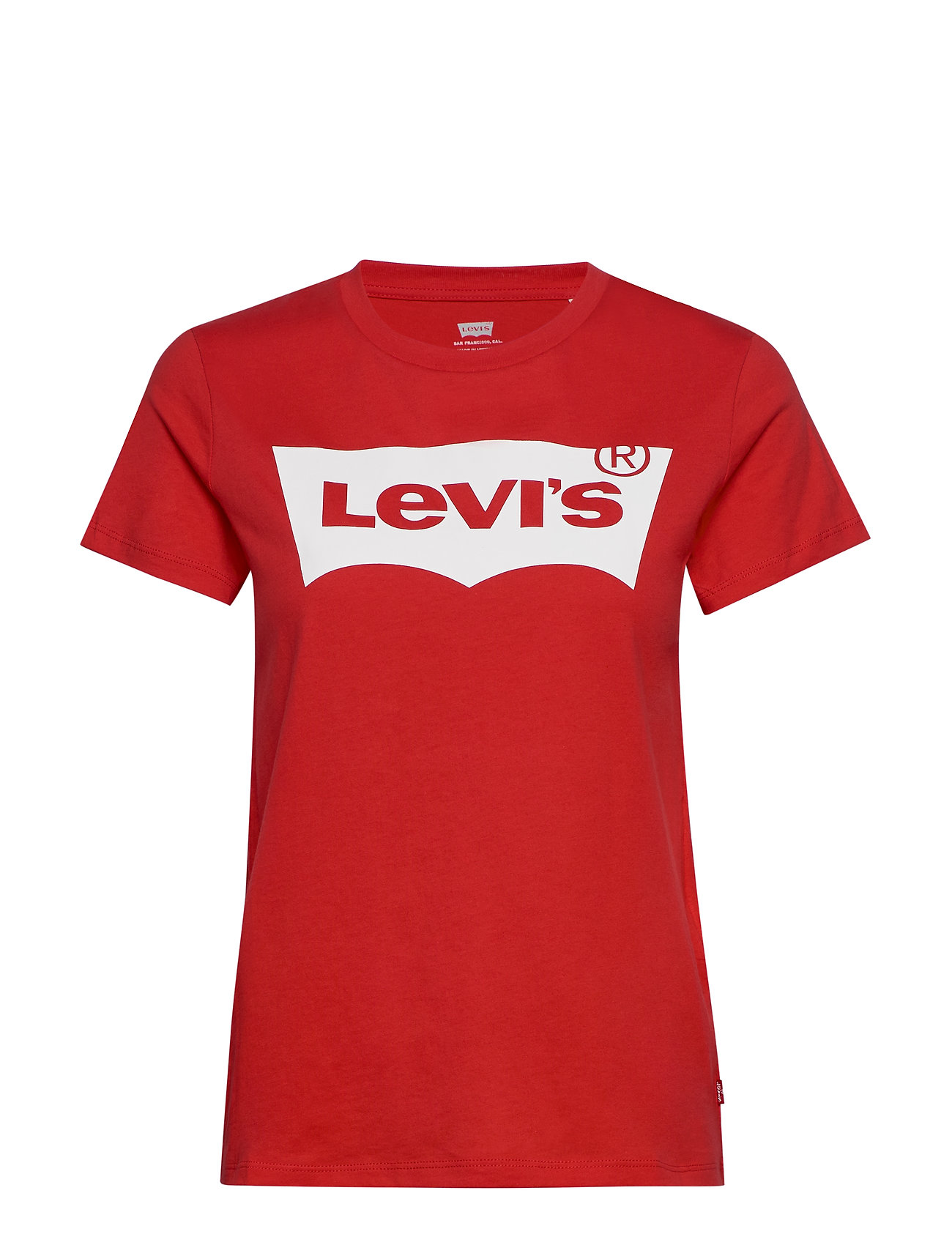 Image of The Perfect Tee Bw T2 Tomato G T-shirt Top Rød LEVI´S Women (3326810681)