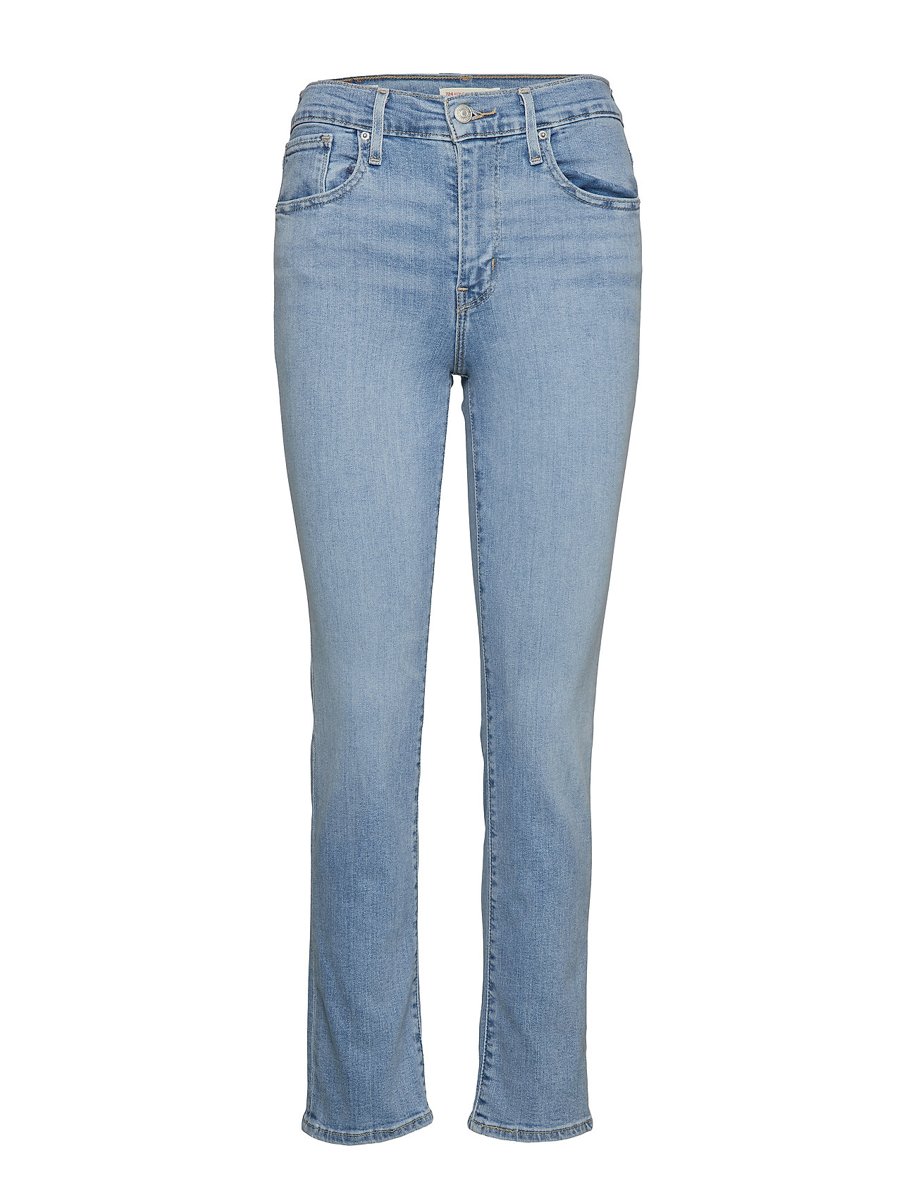LEVI´S Women 724 HIGH RISE STRAIGHT SAN FRA - LIGHT INDIGO - WORN IN