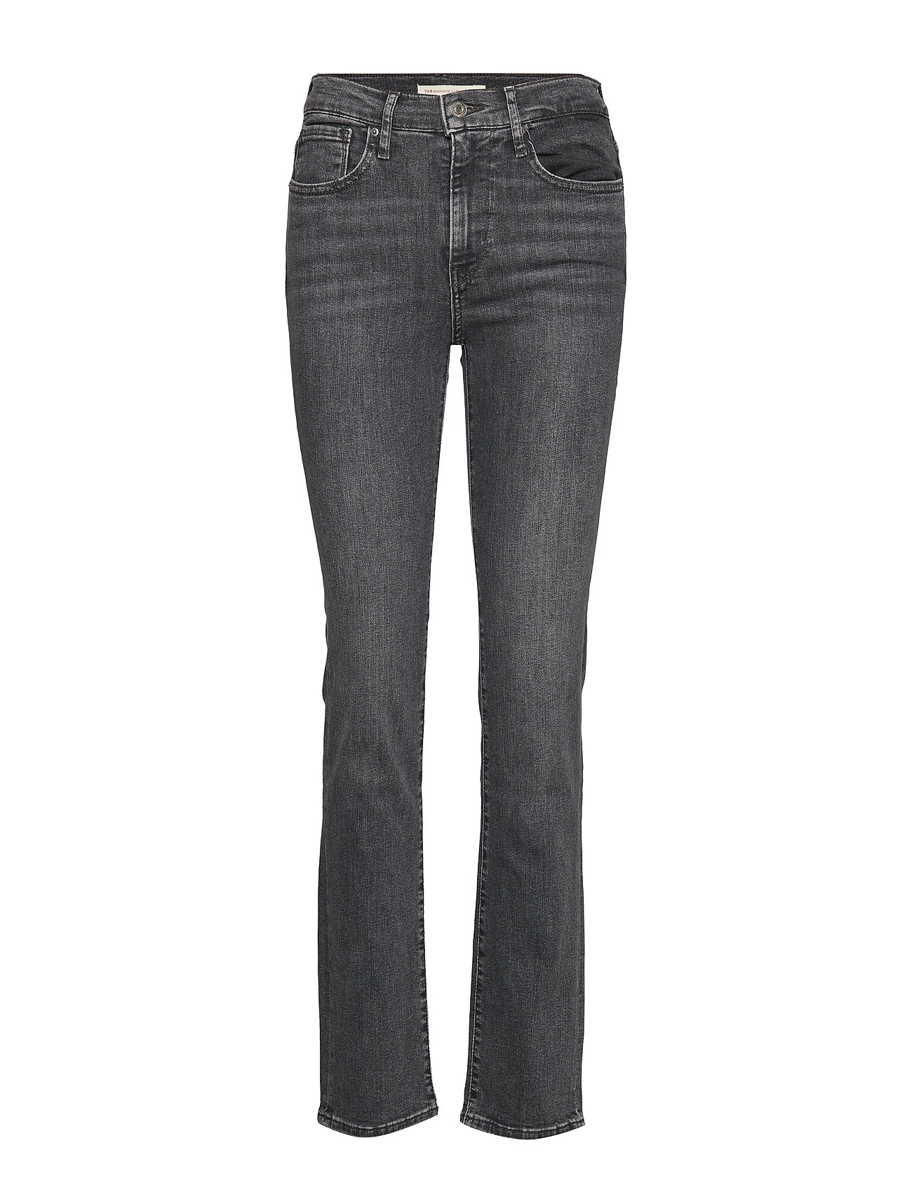 LEVI´S Women 724 HIGH RISE STRAIGHT END OF - MED INDIGO - WORN IN
