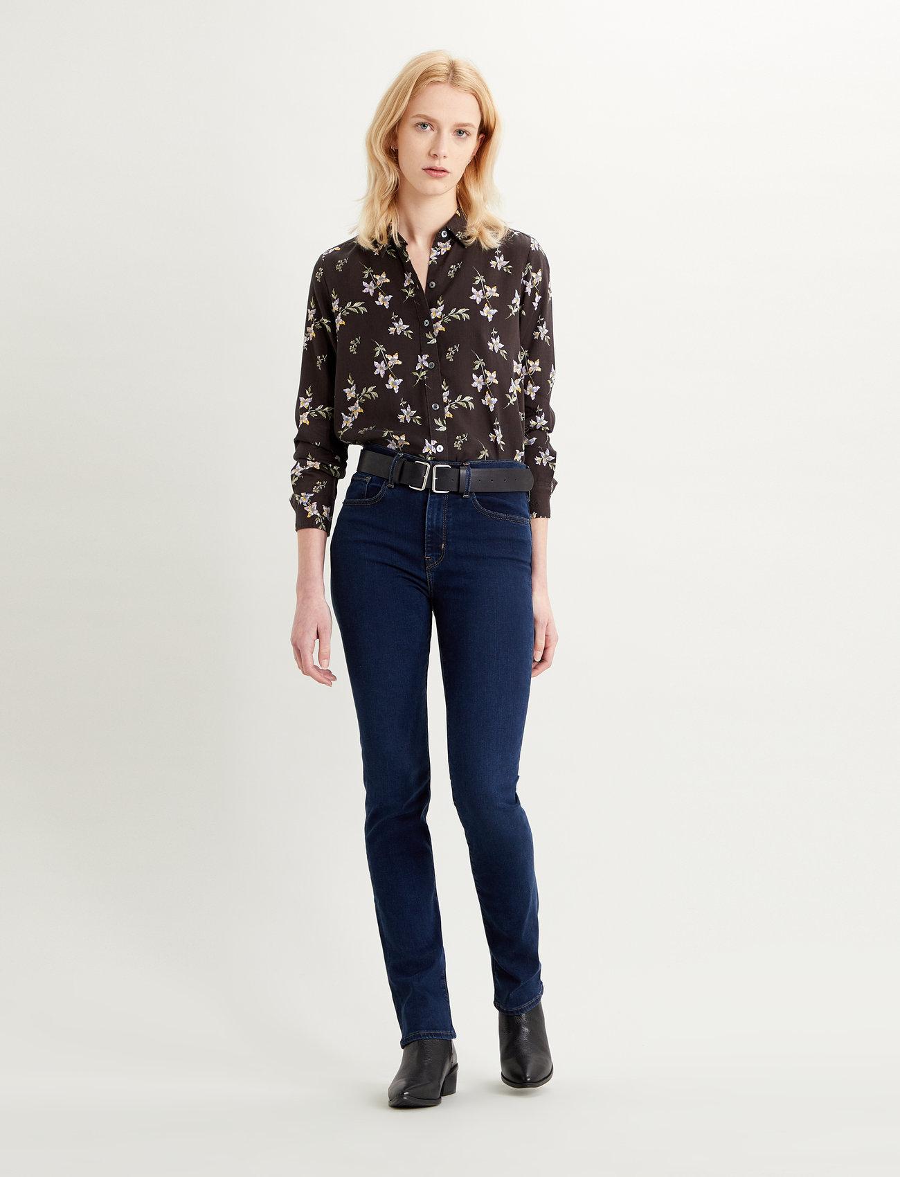 LEVI´S Women - 724 HIGH RISE STRAIGHT BOGOTA - straight jeans - dark indigo - flat finish - 0