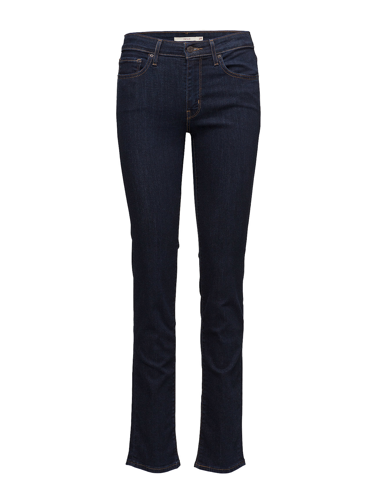 LEVI´S Women 712 SLIM LONE WOLF - DARK INDIGO - FLAT FINISH