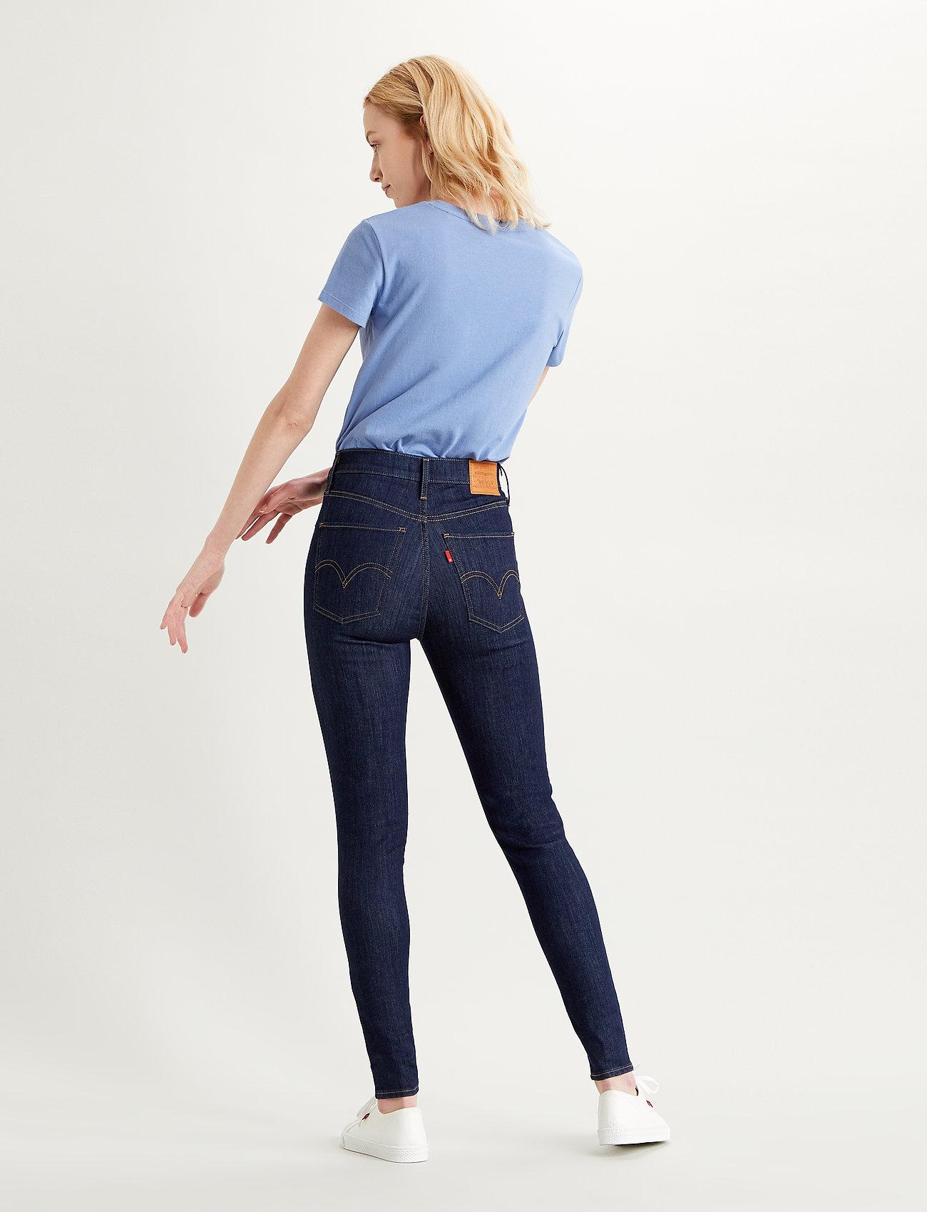 LEVI´S Women - MILE HIGH SUPER SKINNY CELESTI - skinny jeans - dark indigo - flat finish - 3