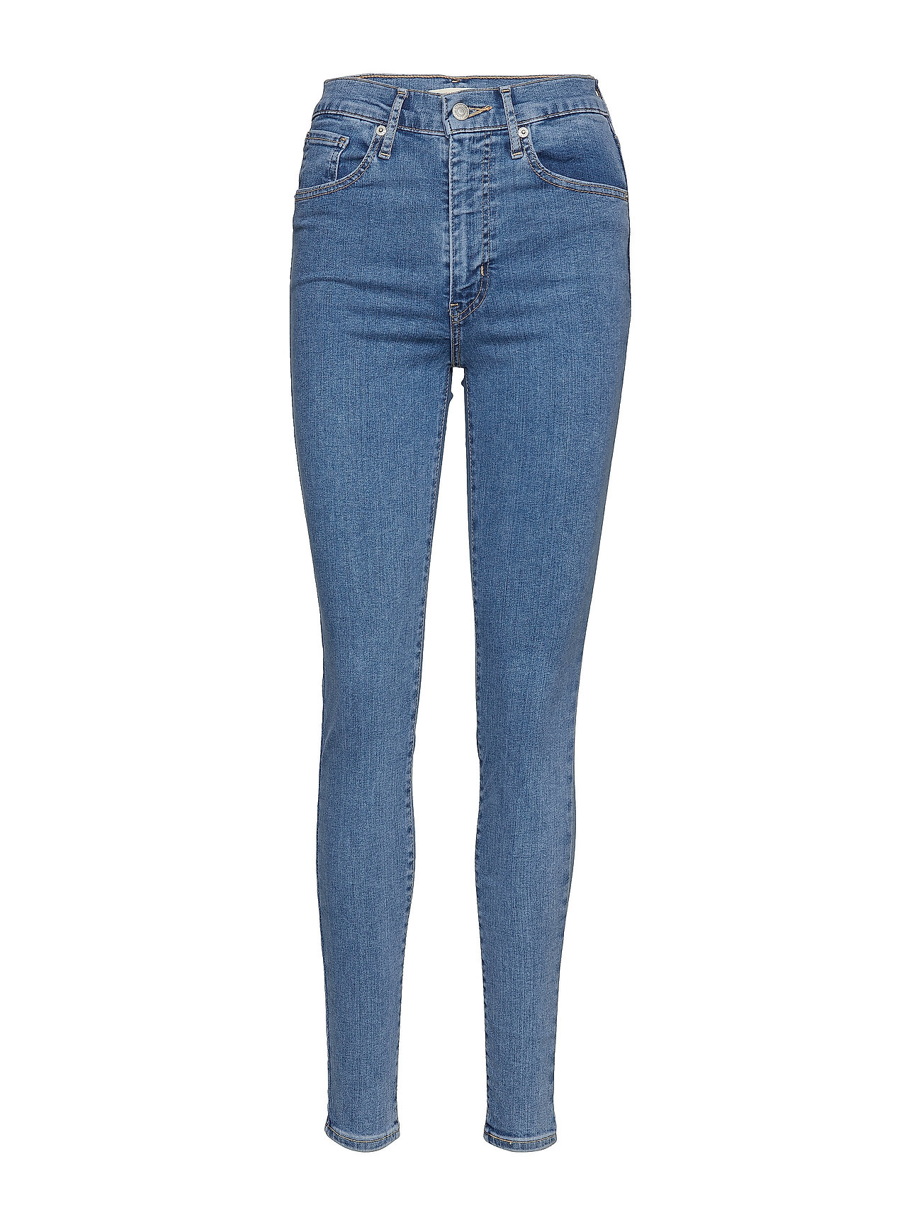 LEVI´S Women MILE HIGH SUPER SKINNY OUT THE - MED INDIGO - FLAT FINISH