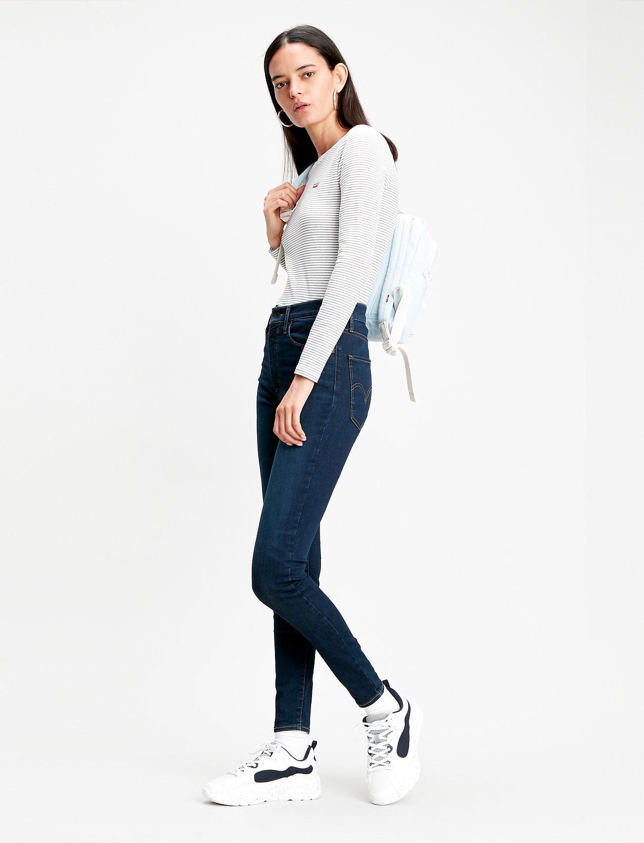 LEVI´S Women - MILE HIGH SUPER SKINNY ECHO DA - skinny jeans - blacks - 0