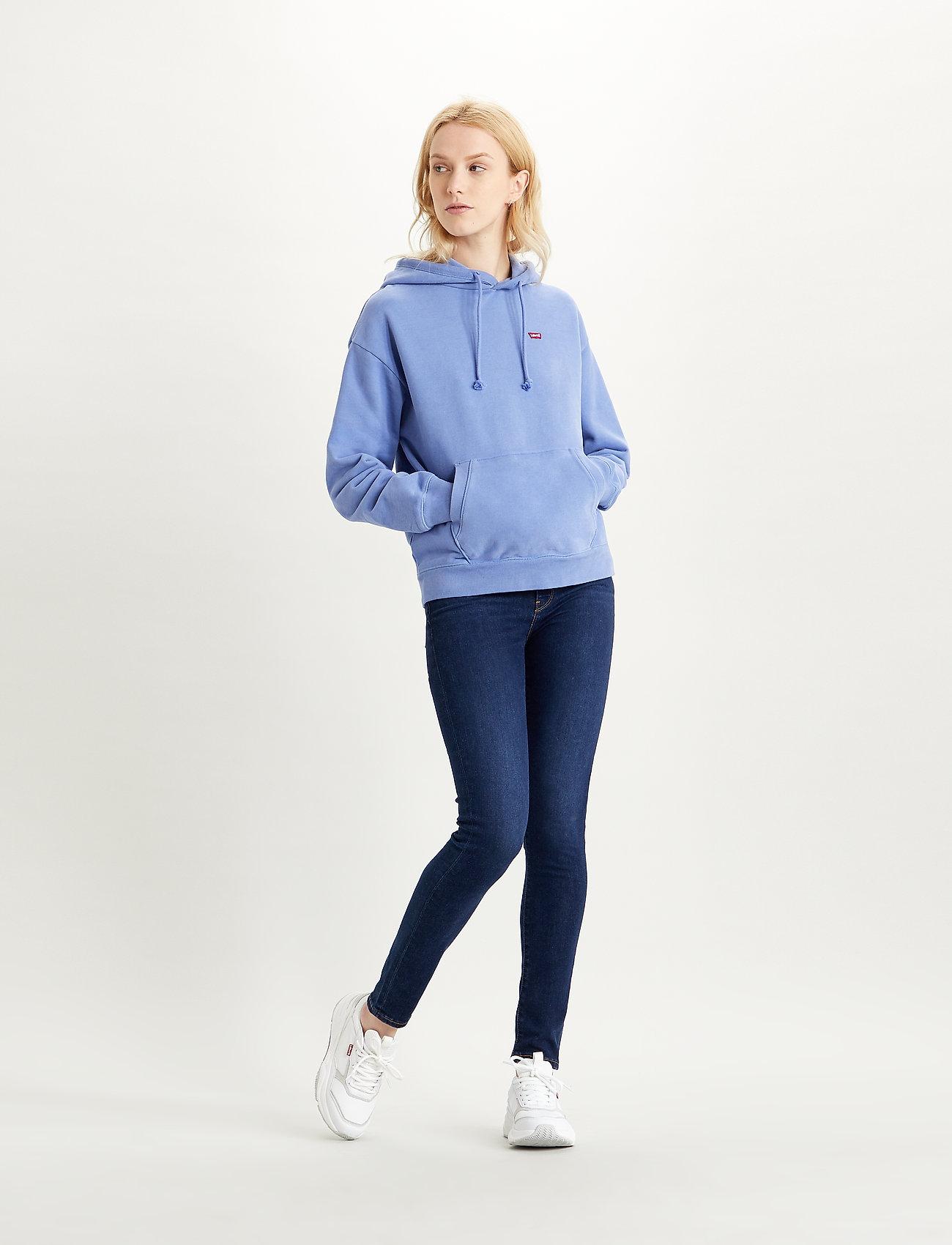 LEVI´S Women - STANDARD HOODIE COLONY BLUE - sweatshirts & hættetrøjer - blues - 0