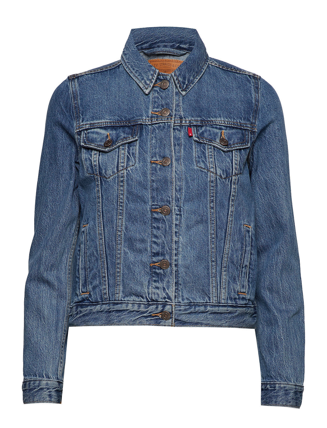 Exbf Sport Pc Trucker End Game Jakke Denimjakke Blå LEVI´S Women
