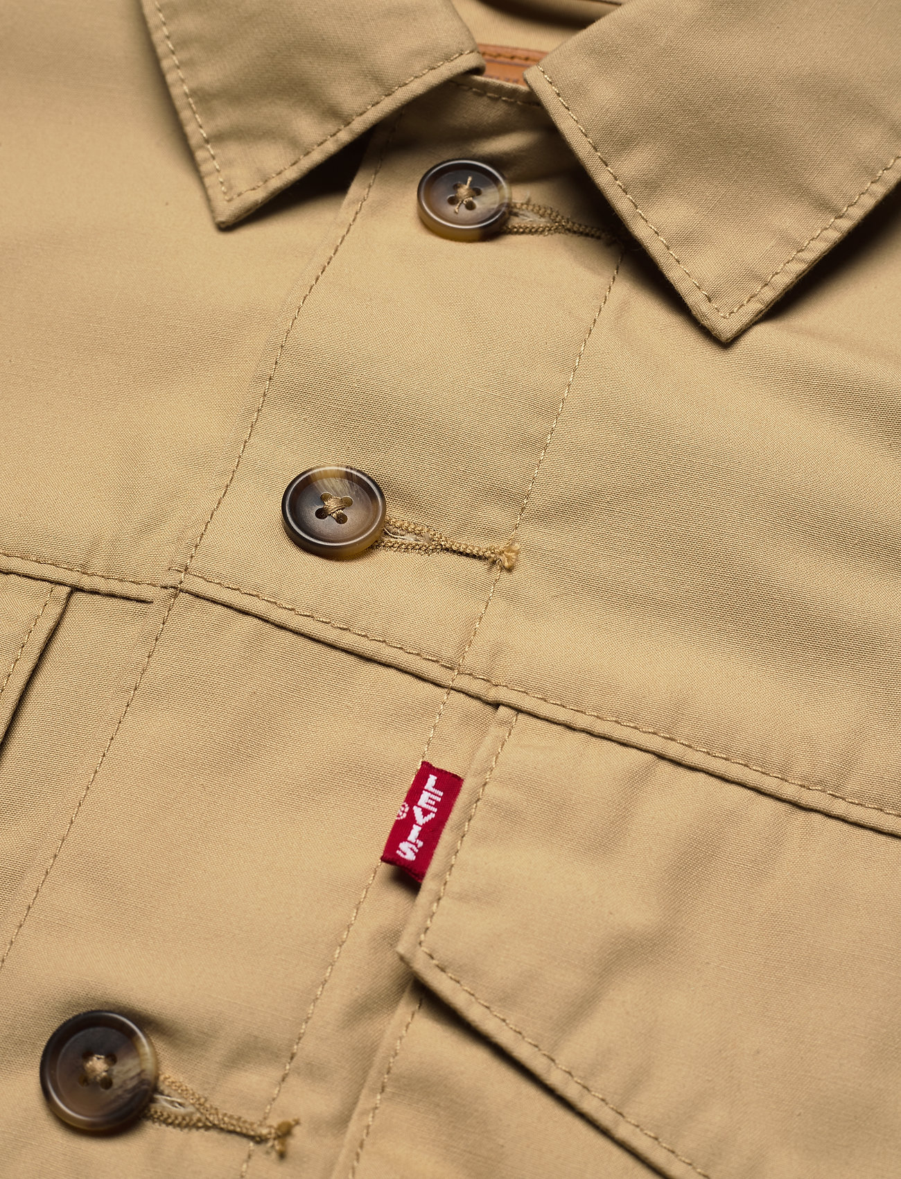 LEVI´S Women - LOOSE UTILITY TRUCKER SOFT STR - utility jackets - neutrals - 2