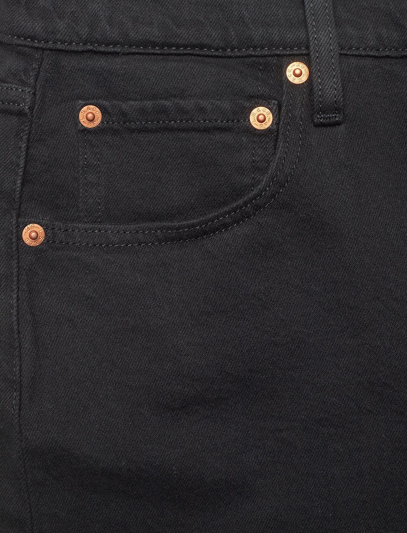 LEVI´S Women - 501 CROP BLACK SPROUT - raka jeans - blacks - 2