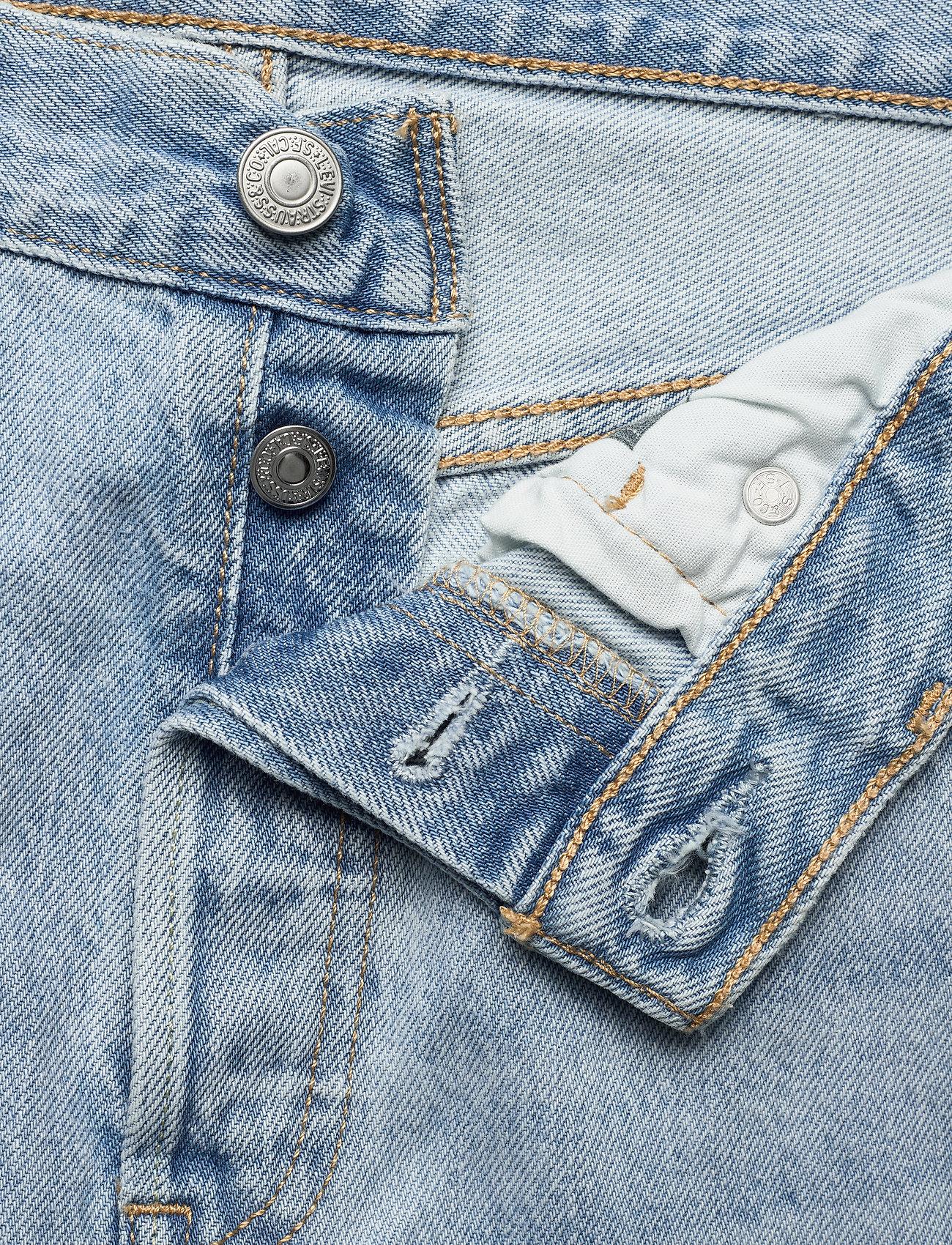 LEVI´S Women - 501 CROP OJAI LUXOR RA - straight regular - light indigo - worn in - 3
