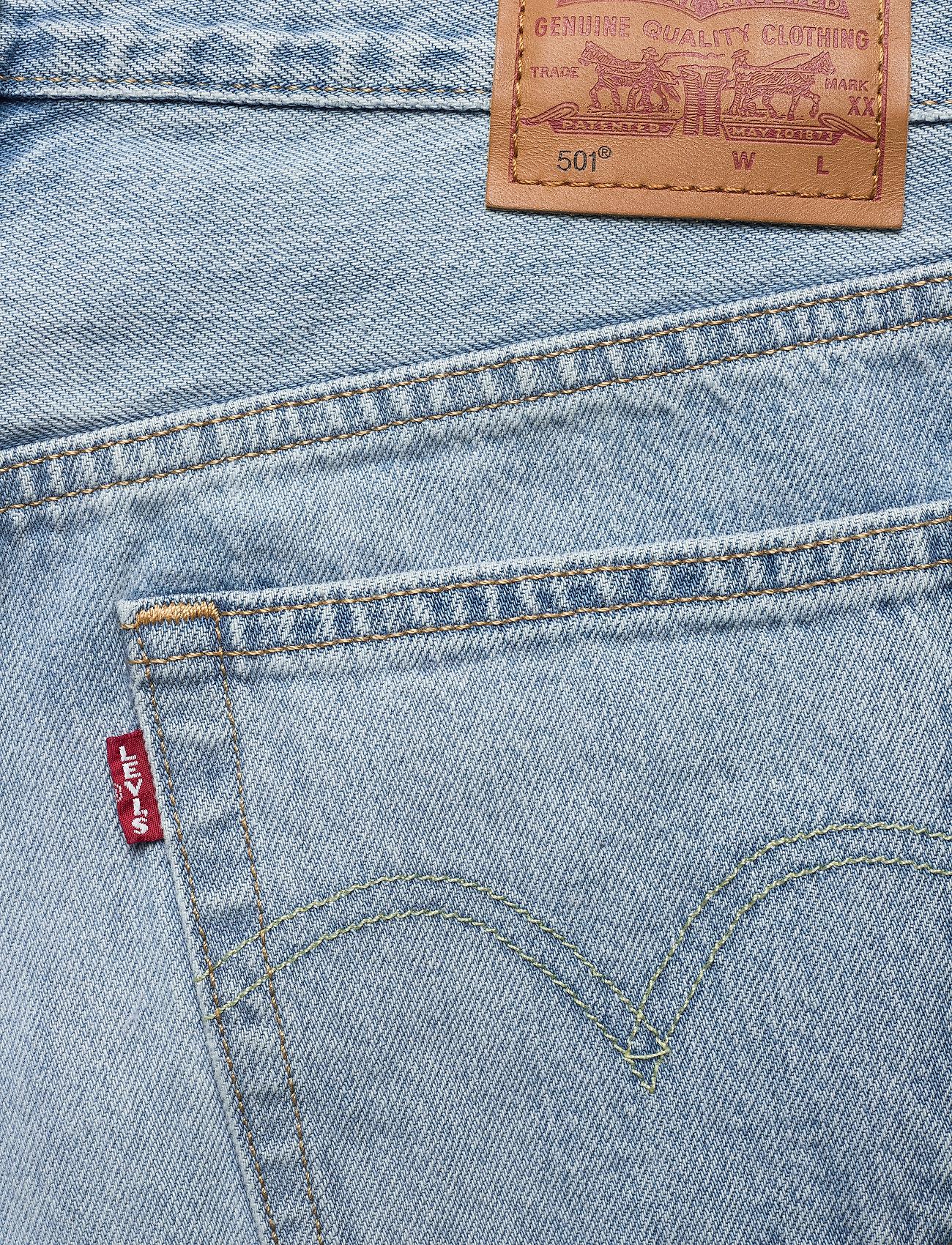 LEVI´S Women - 501 CROP OJAI LUXOR RA - straight regular - light indigo - worn in - 4