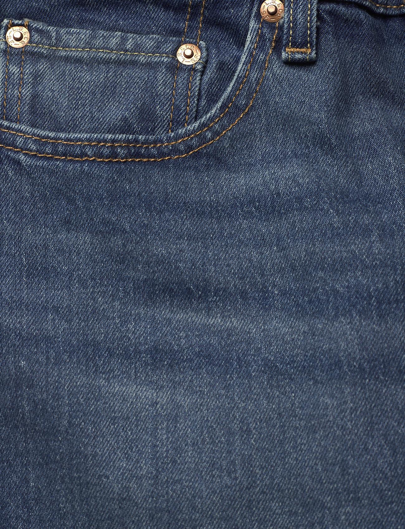 LEVI´S Women - 501 CROP SALSA CHARLESTON OUTL - straight regular - dark indigo - worn in - 2