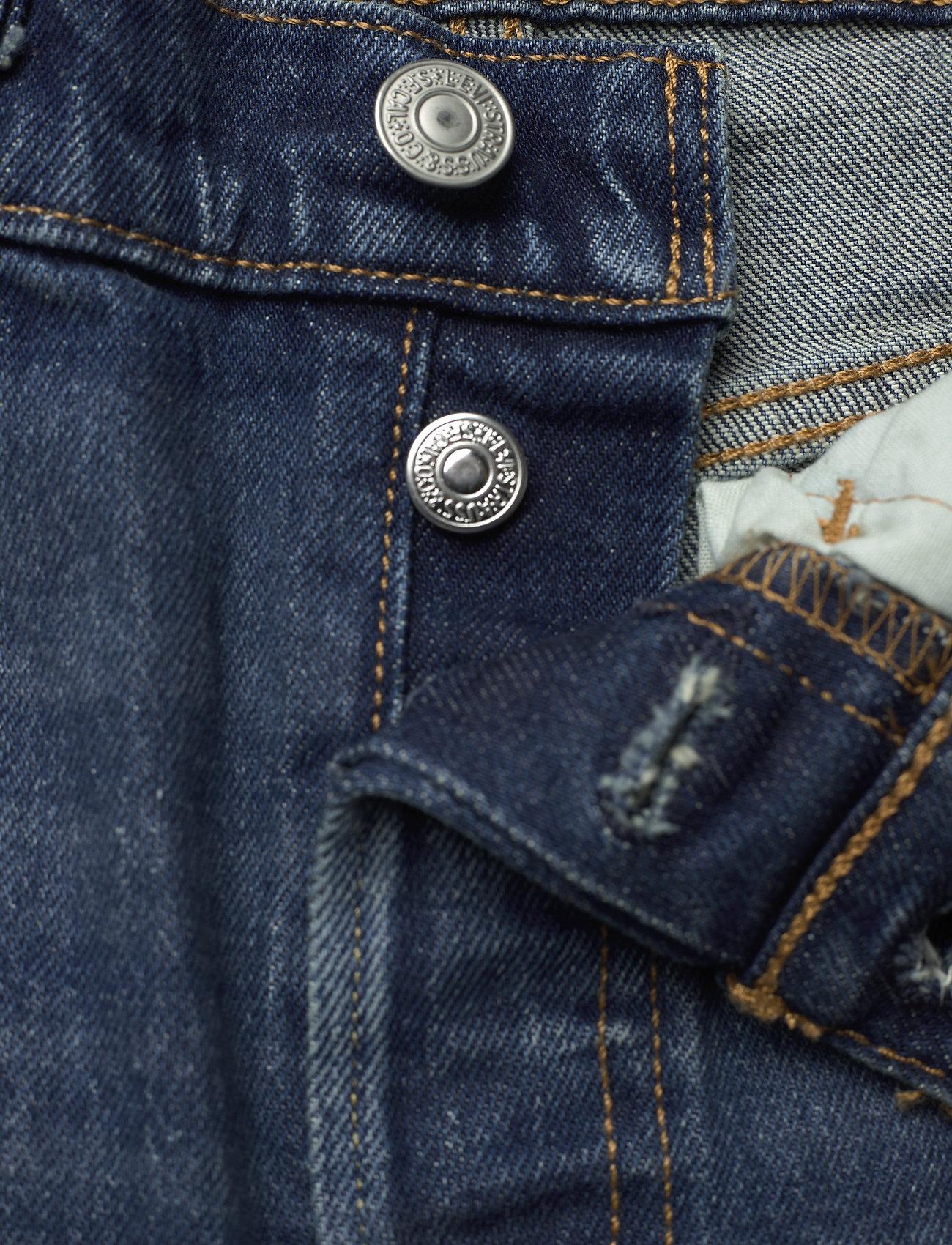 LEVI´S Women - 501 CROP SALSA CHARLESTON OUTL - straight regular - dark indigo - worn in - 3