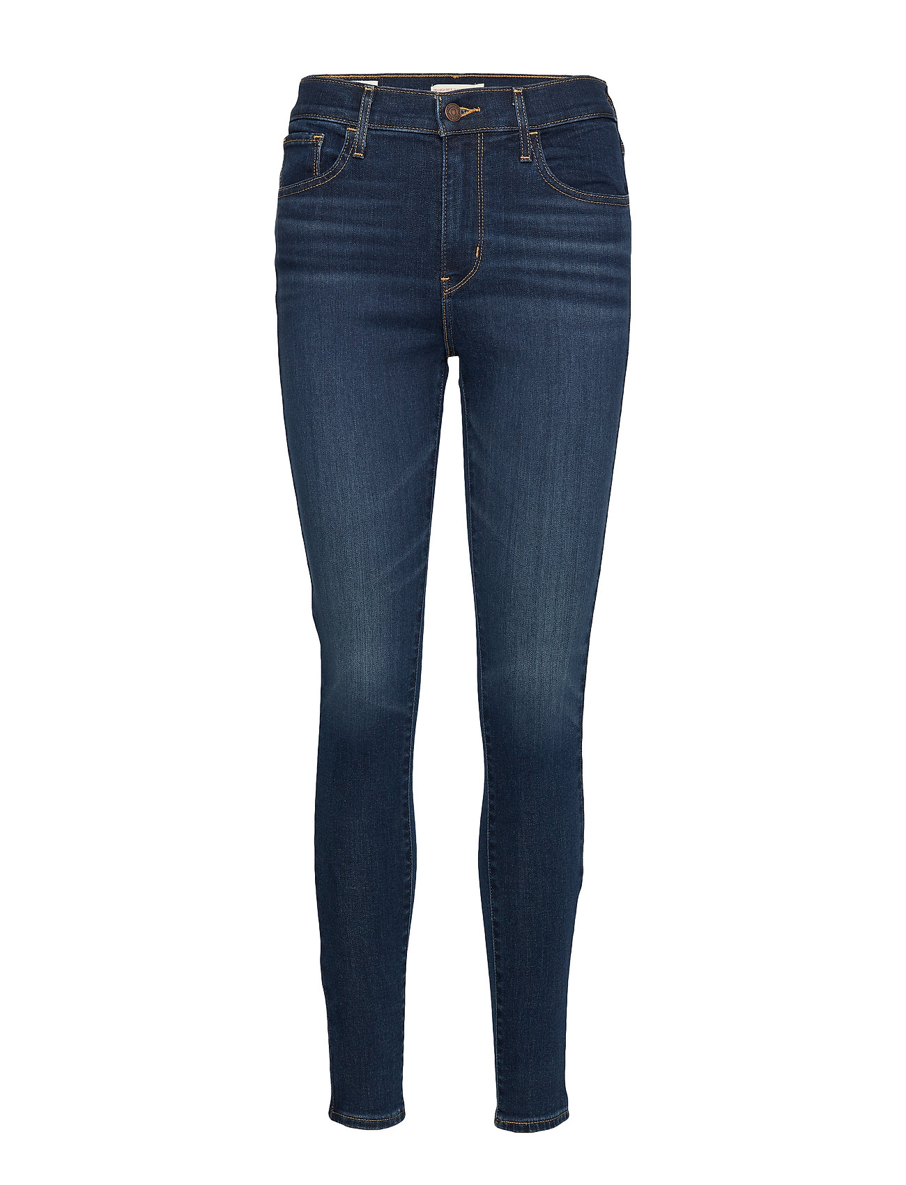 LEVI´S Women 720 HIRISE SUPER SKINNY SALT L - DARK INDIGO - WORN IN