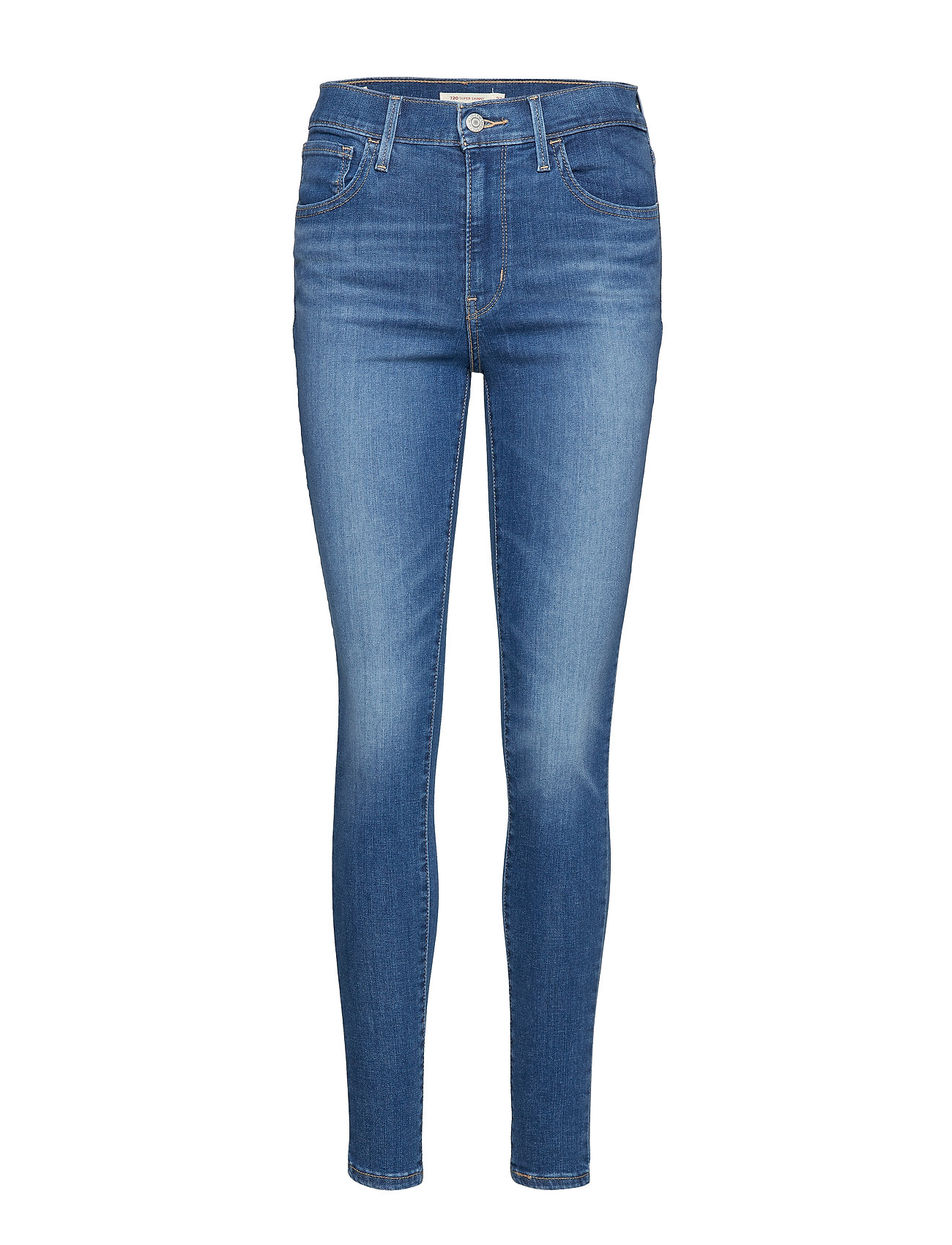 LEVI´S Women 720 HIRISE SUPER SKINNY LOVE R - MED INDIGO - WORN IN