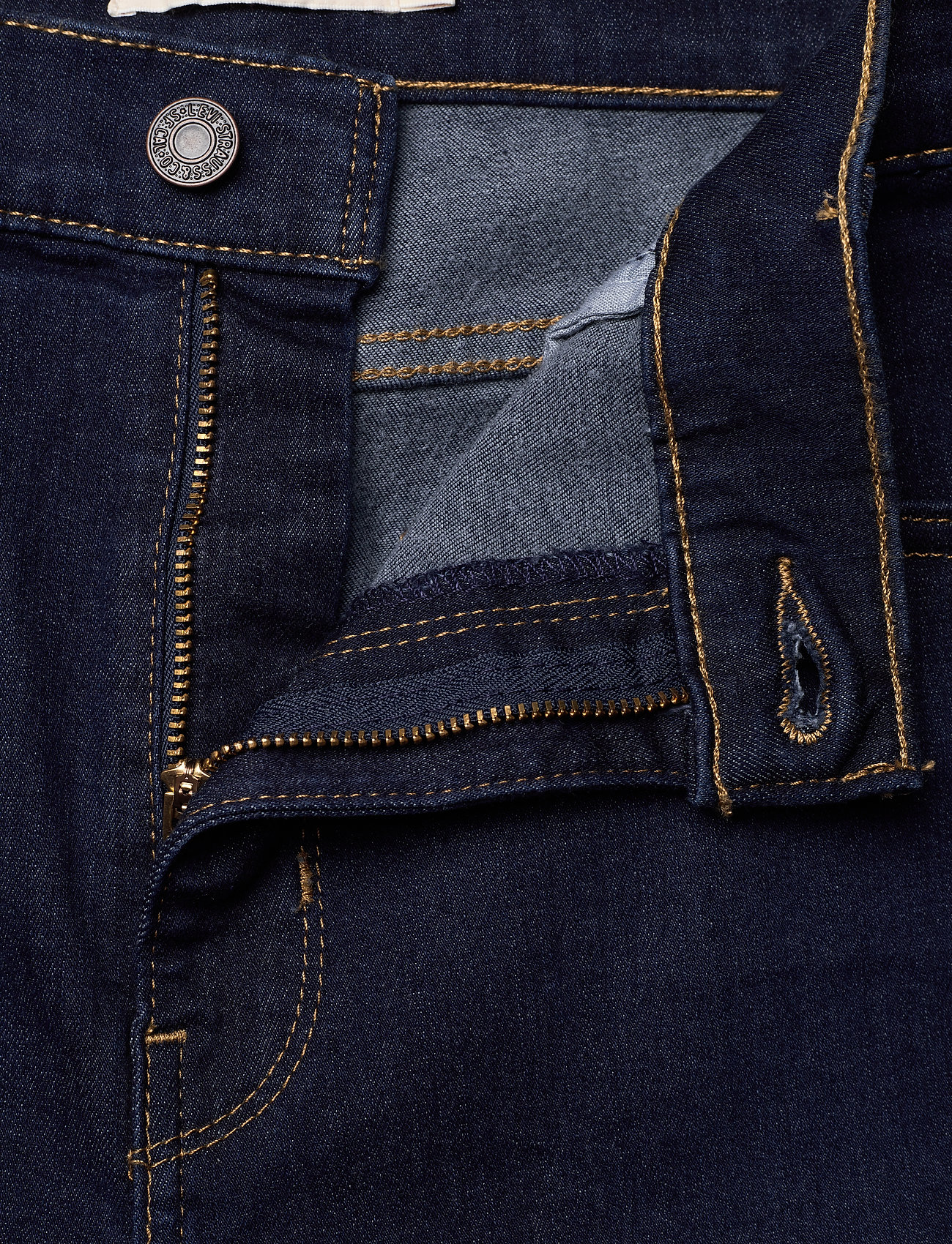LEVI´S Women - 720 HIRISE SUPER SKINNY ECHO B - skinny jeans - dark indigo - worn in - 3