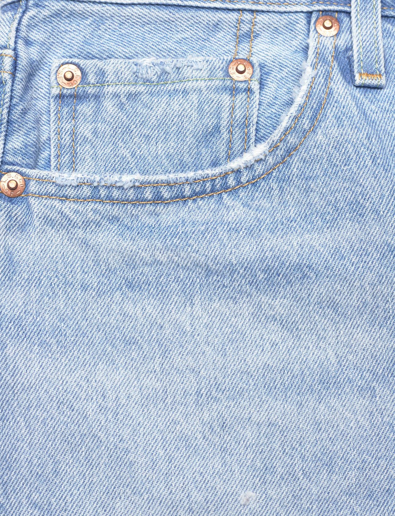 LEVI´S Women - 501 ORIGINAL SHORT LUXOR HEAT - shorts - light indigo - worn in - 2
