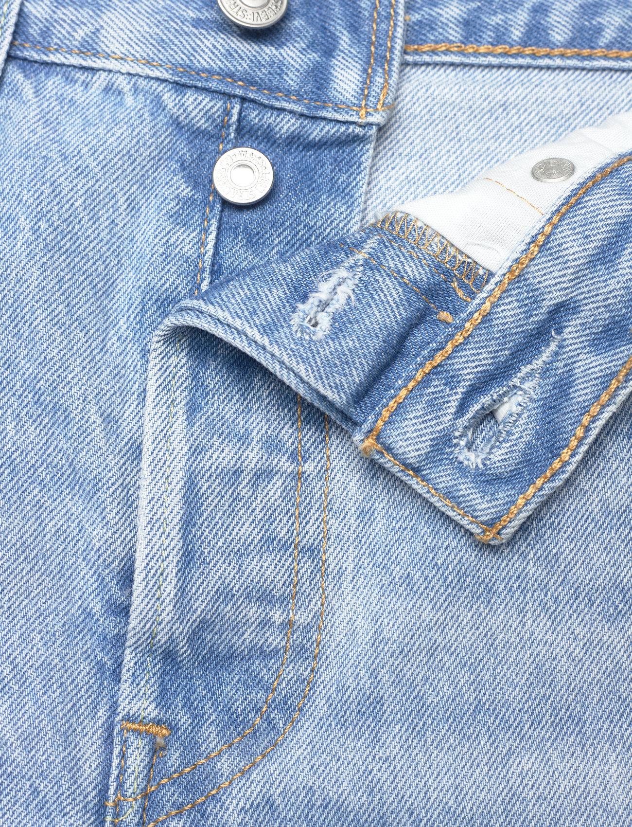 LEVI´S Women - 501 ORIGINAL SHORT LUXOR HEAT - shorts - light indigo - worn in - 3