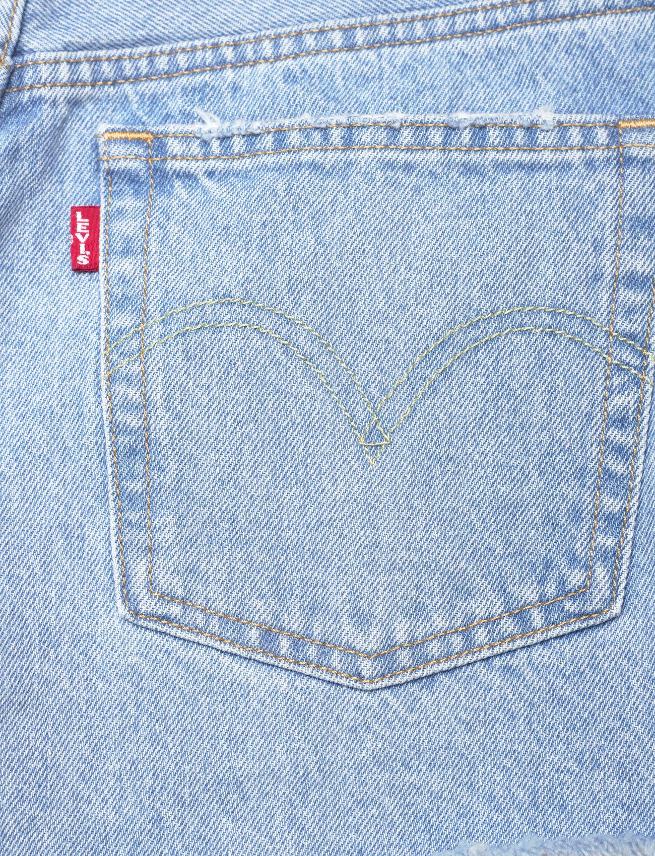 LEVI´S Women - 501 ORIGINAL SHORT LUXOR HEAT - shorts - light indigo - worn in - 4