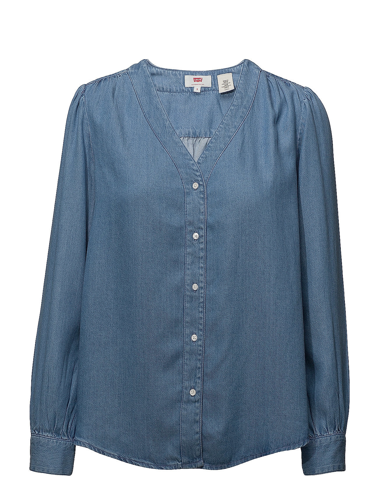 Washlight Mid WashLevi´s Light Malika Shirt Women E9DH2I