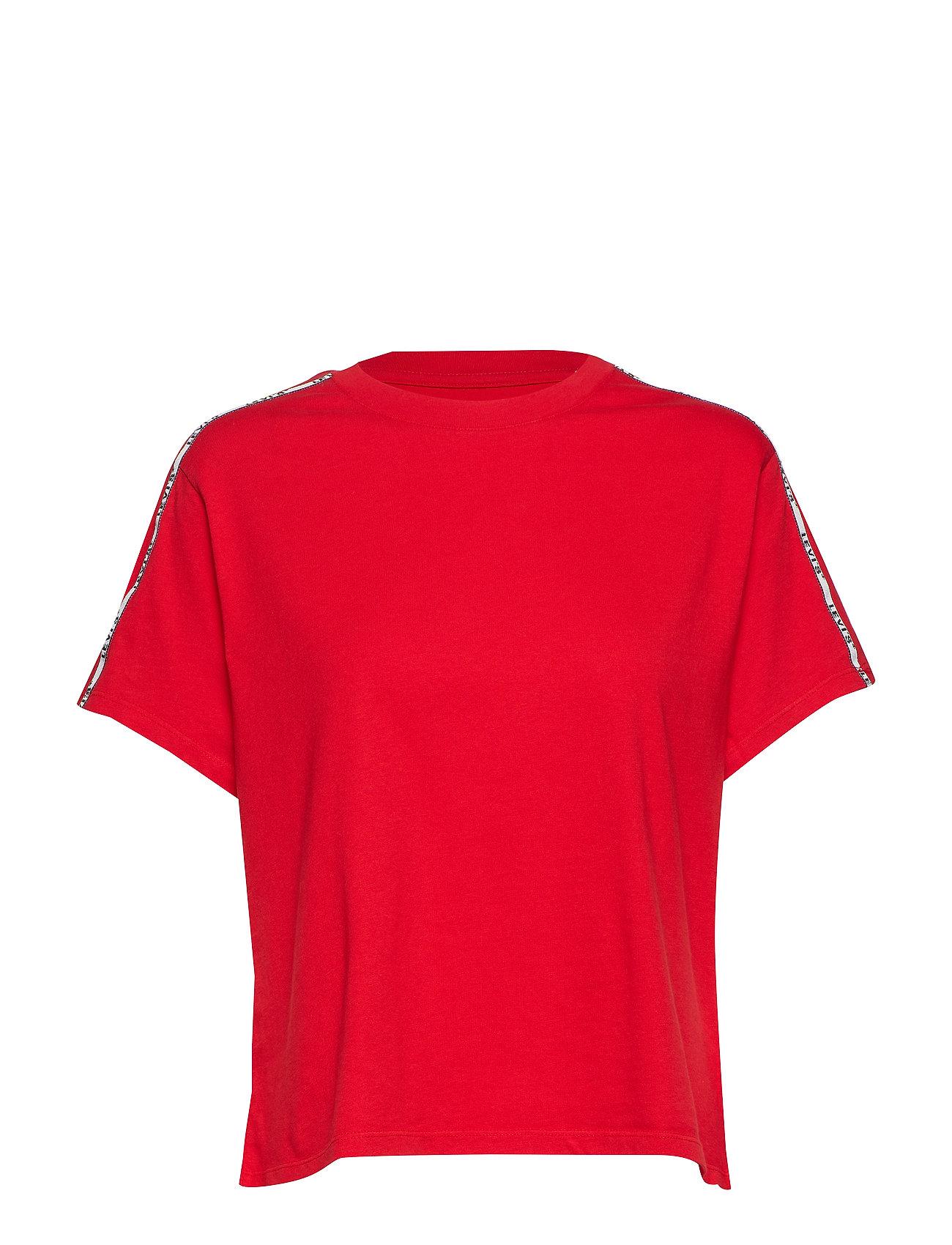 LEVI´S Women VARSITY TEE BRILLIANT RED - REDS