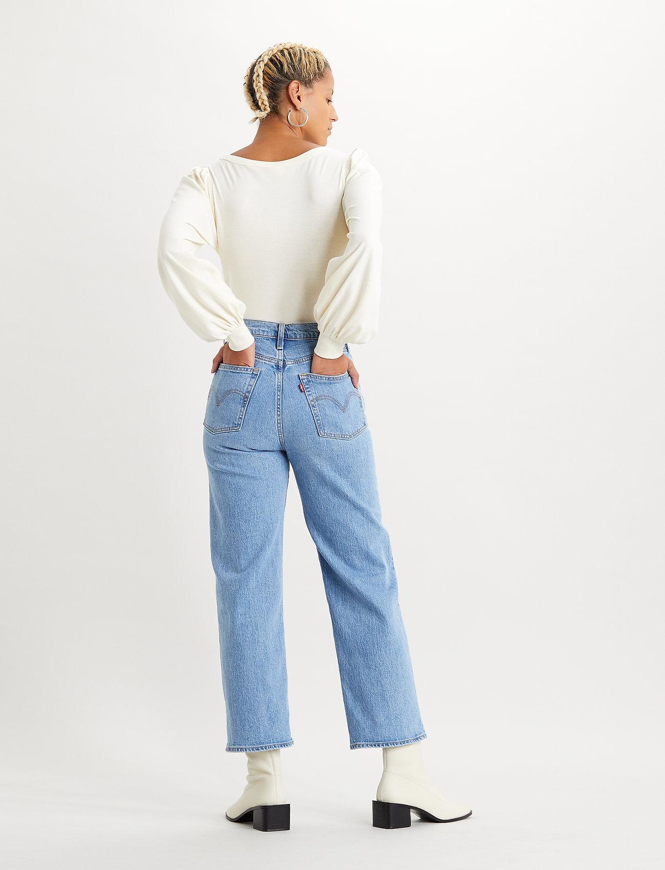 LEVI´S Women - RIBCAGE STRAIGHT ANKLE TANGO G - straight regular - light indigo - worn in - 3