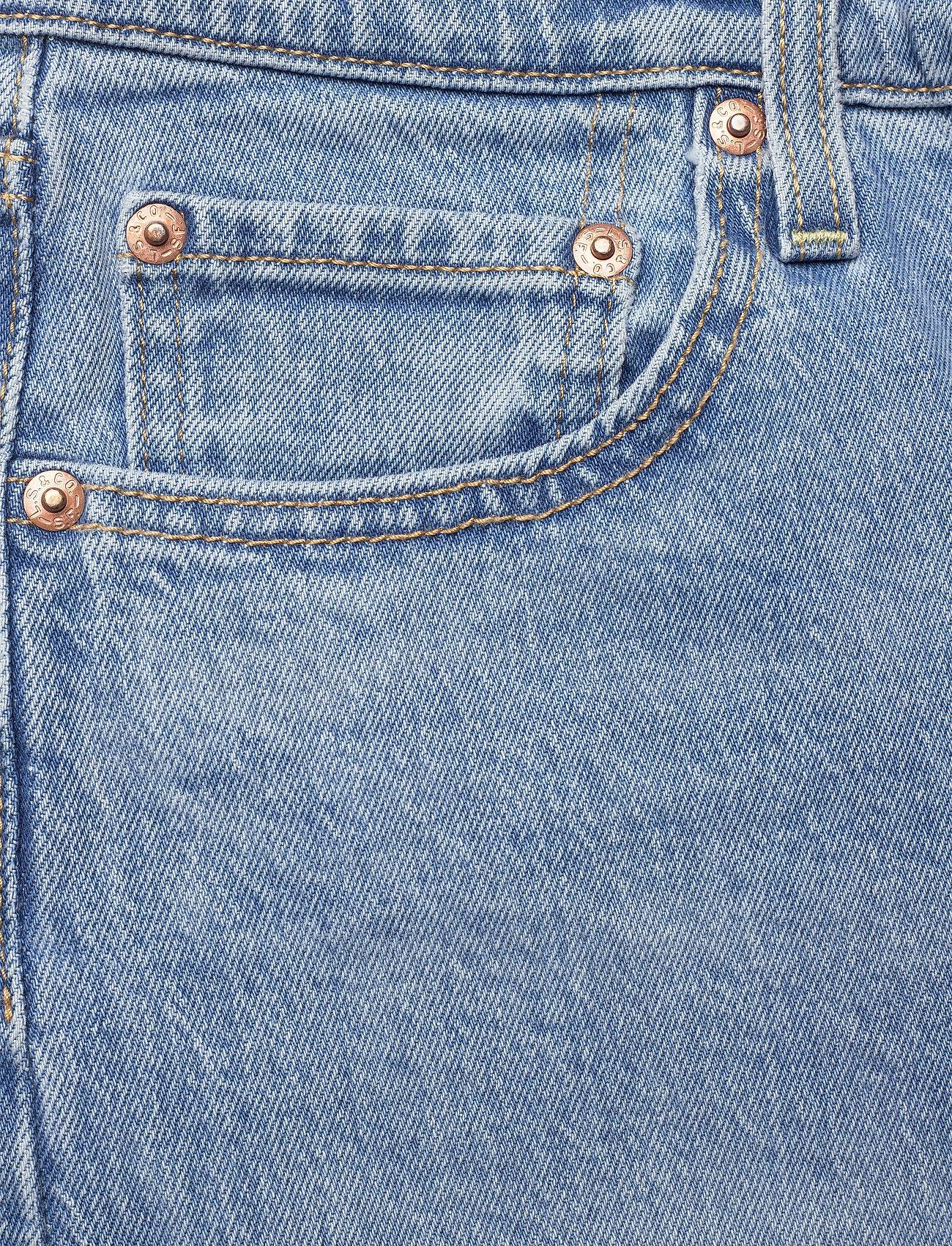 LEVI´S Women - RIBCAGE STRAIGHT ANKLE TANGO G - straight regular - light indigo - worn in - 4