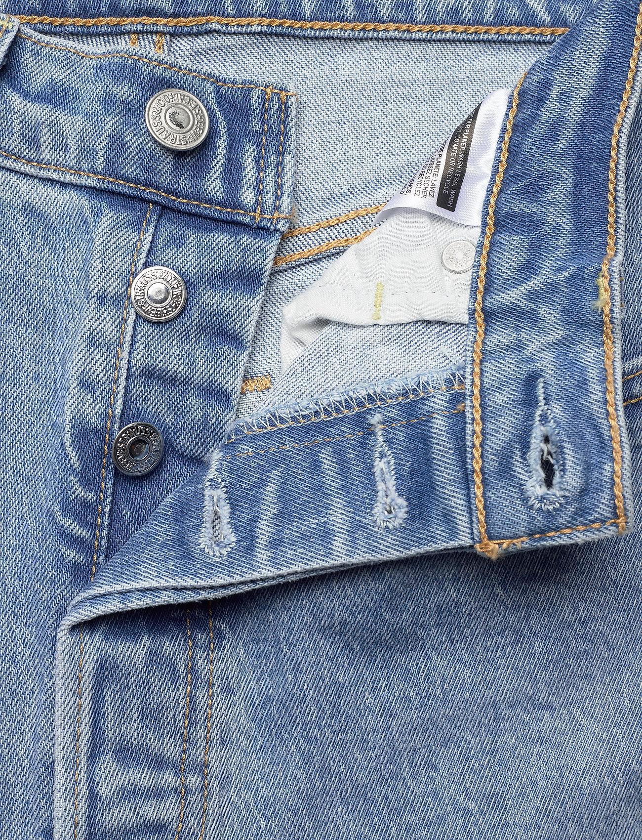 LEVI´S Women - RIBCAGE STRAIGHT ANKLE TANGO G - straight regular - light indigo - worn in - 5