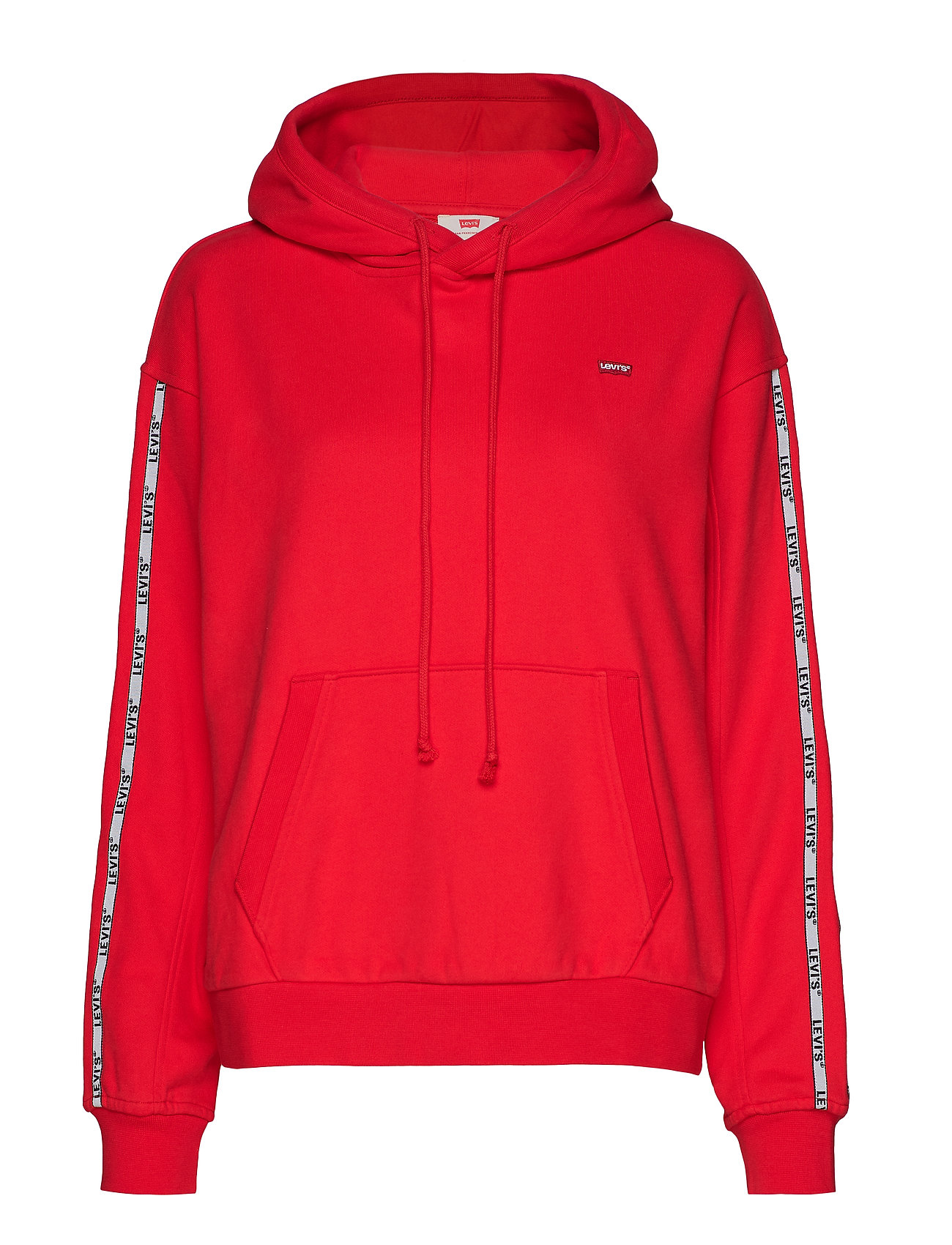 LEVI´S Women UNBASIC HOODIE BRILLIANT RED - REDS