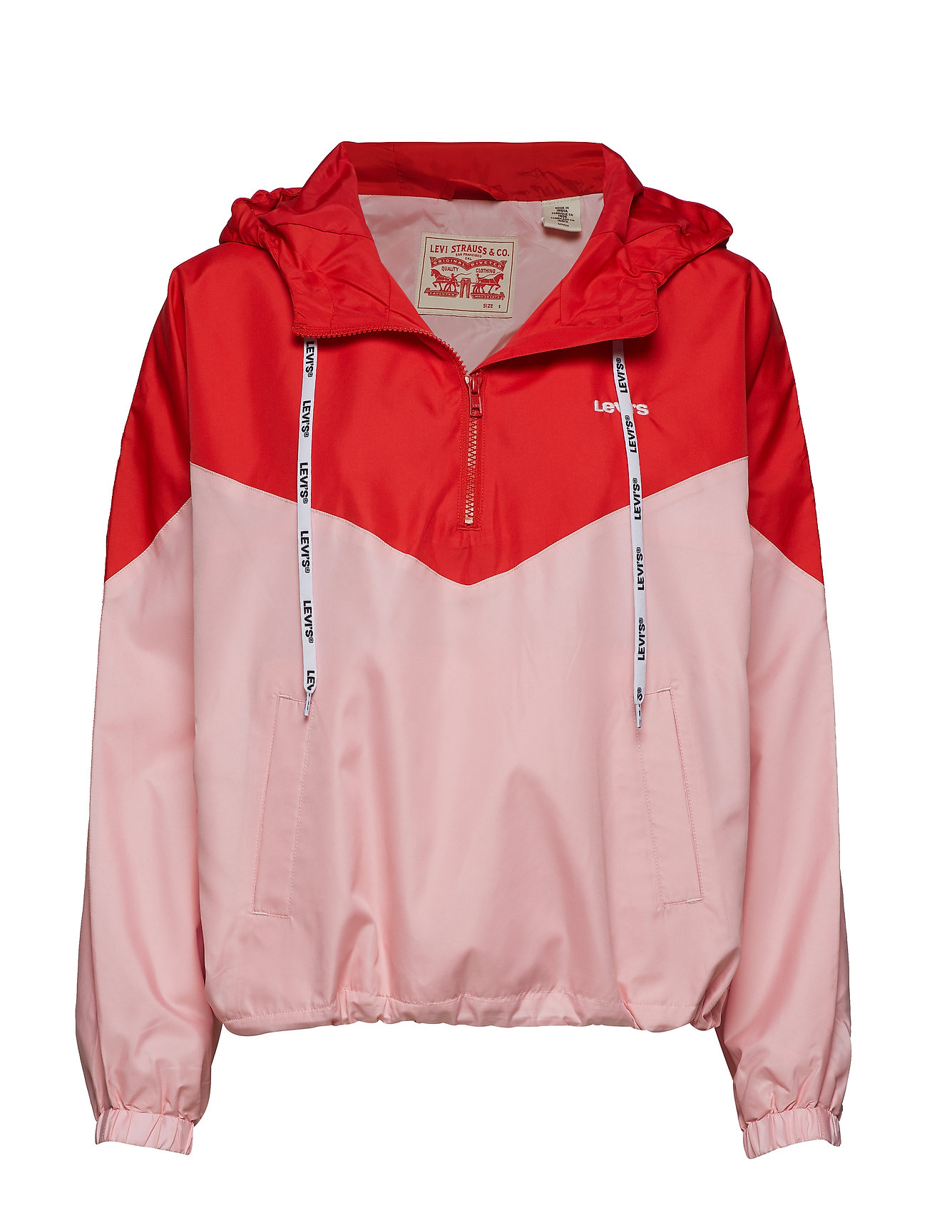 LEVI´S Women KIMORA JACKET COLORBLOCK RAGLA - REDS