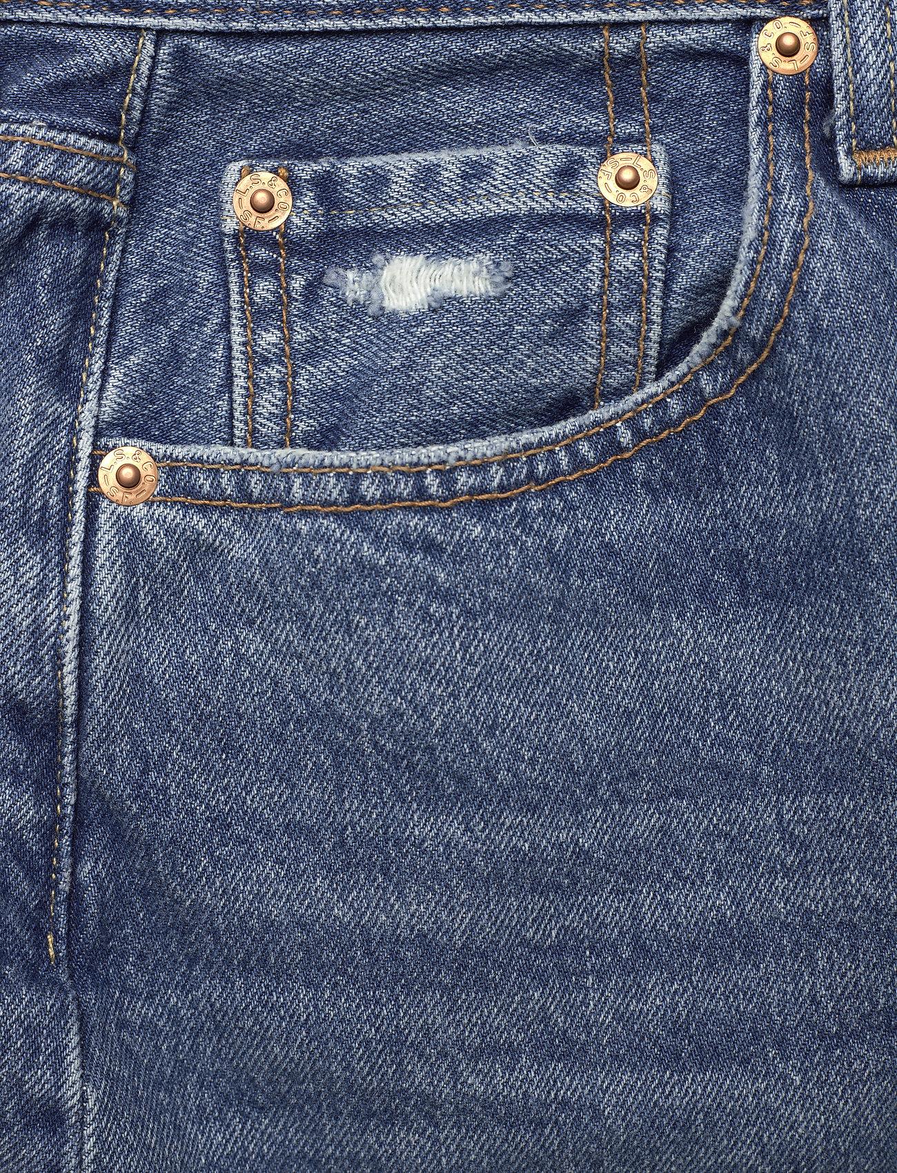 LEVI´S Women - HR DECON ICNIC BFLY SKRT STUCK - denimnederdele - med indigo - worn in - 2