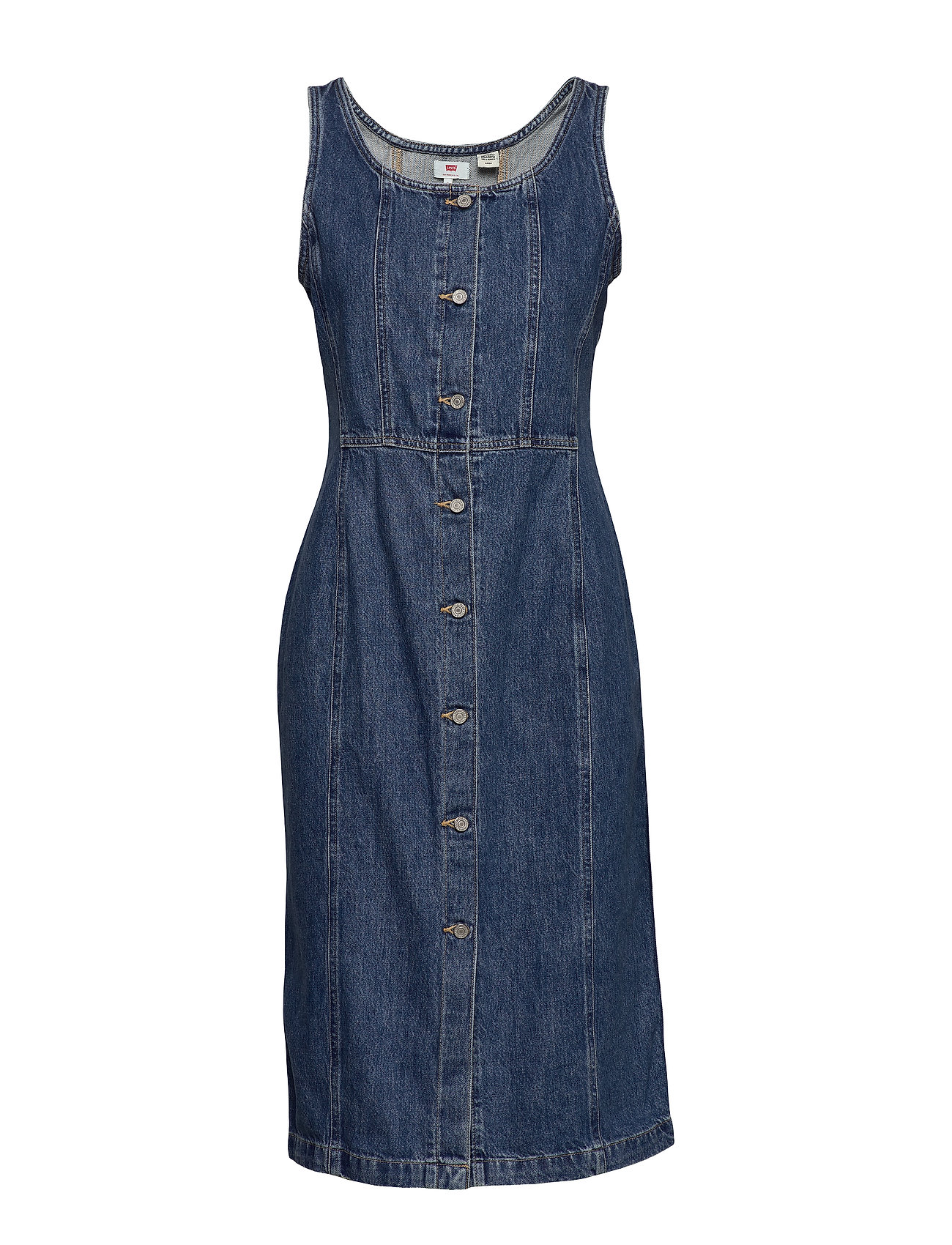LEVI´S Women SIENNA DRESS OUT OF THE BLUE ( - MED INDIGO - WORN IN
