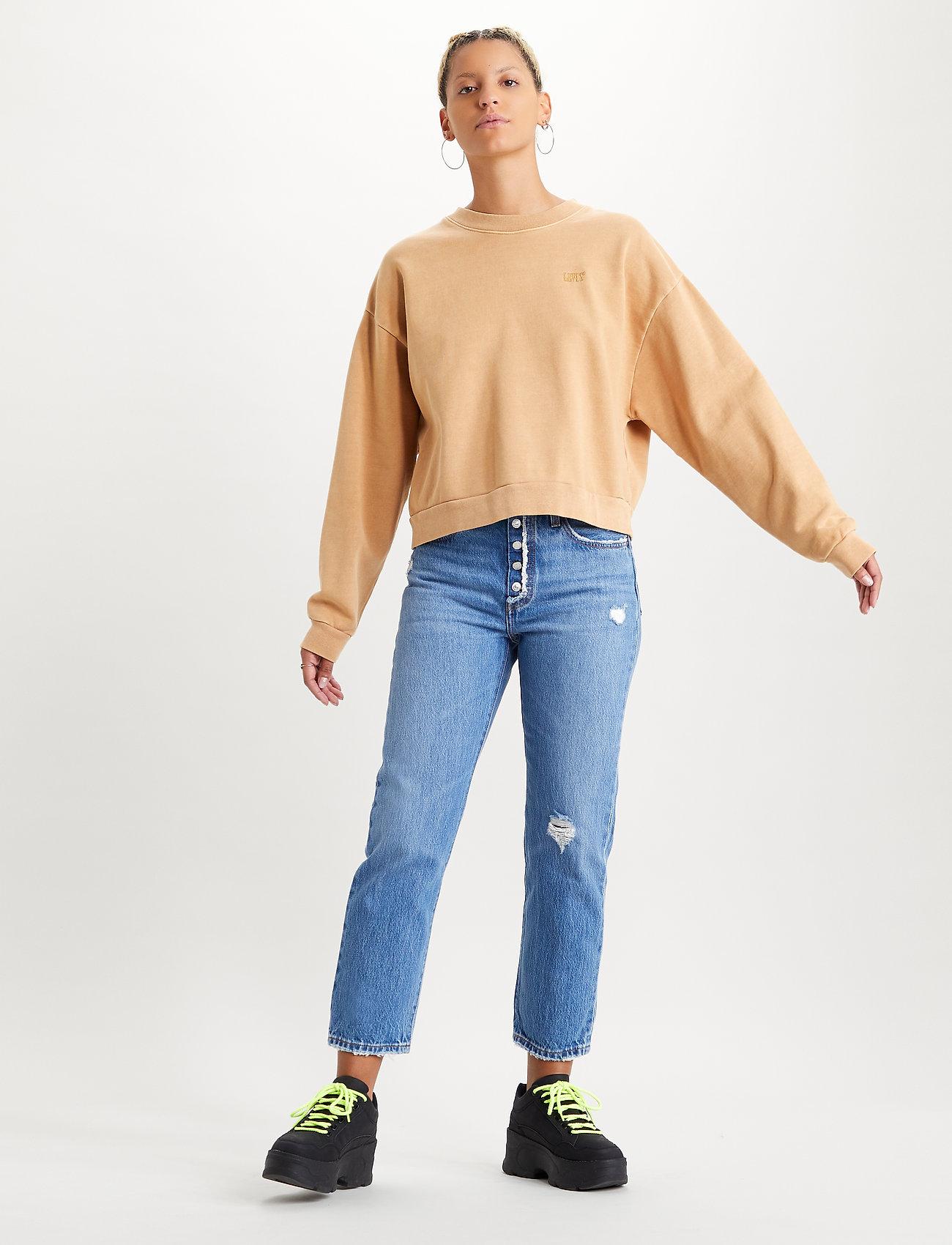 LEVI´S Women - DIANA CREW ICED COFFEE TIGHT L - sweatshirts - neutrals - 0