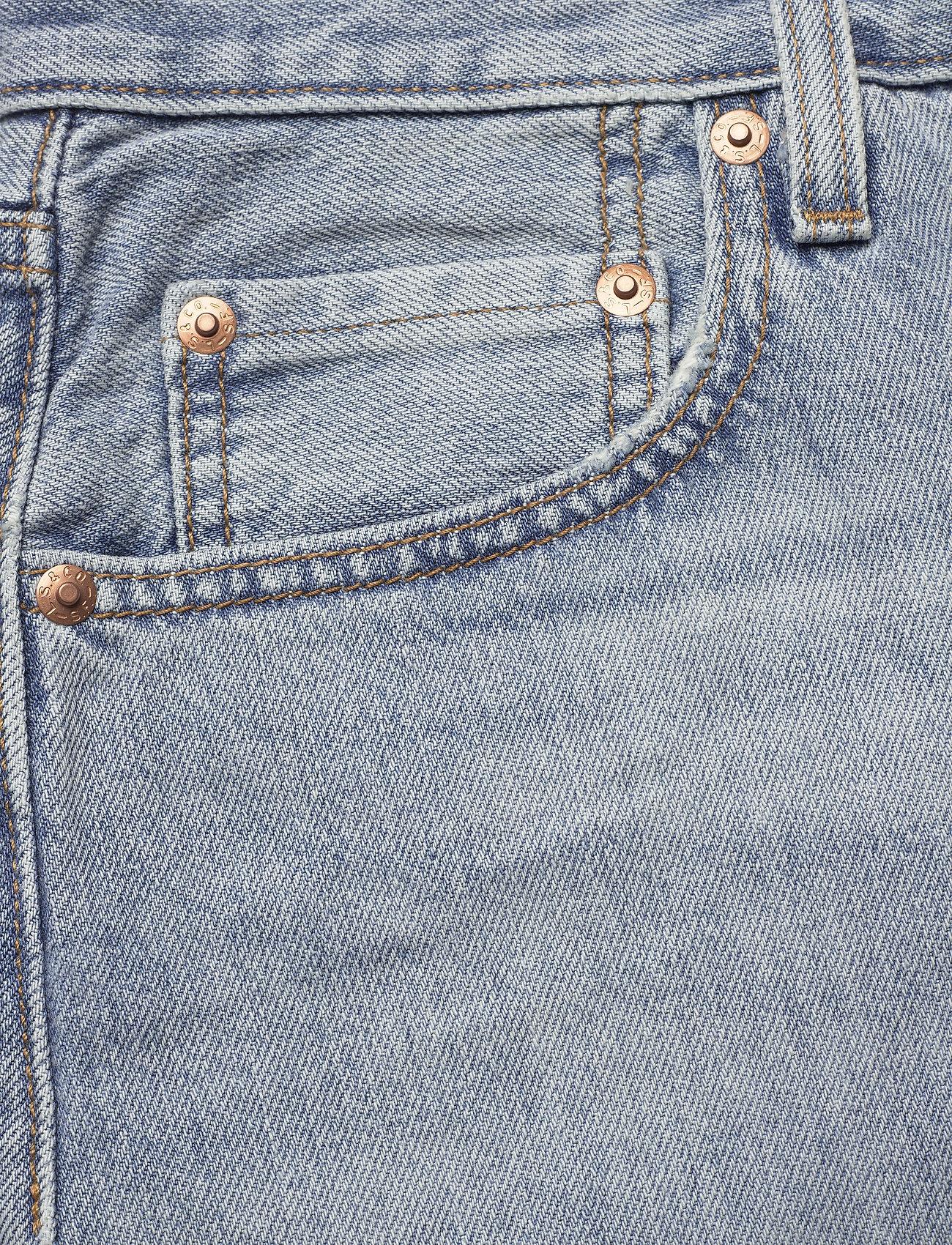 Button Front Midi Skirt Blue C (Med Indigo - Worn In) (51 €) - LEVI´S Women Lntnt