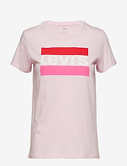 LEVI´S Women - THE PERFECT TEE SPTWR LOGO COL - t-shirts - reds - 0