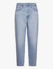 LEVI´S Women - HIGH LOOSE TAPER WAY OUT TENCE - mom jeans - med indigo - worn in - 0