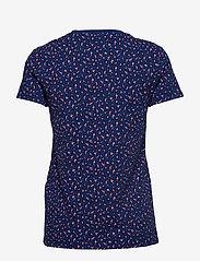 LEVI´S Women - THE PERFECT CREW FUN LEOPARD S - t-shirts - blues - 1