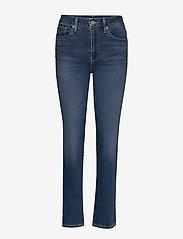 LEVI´S Women - 724 HIGH RISE STRAIGHT BOGOTA - straight jeans - med indigo - flat finish - 1