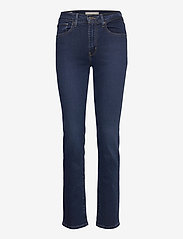 LEVI´S Women - 724 HIGH RISE STRAIGHT BOGOTA - straight regular - dark indigo - flat finish - 1