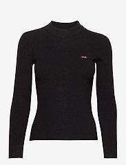 LEVI´S Women - CREW RIB SWEATER CAVIAR - trøjer - blacks - 1