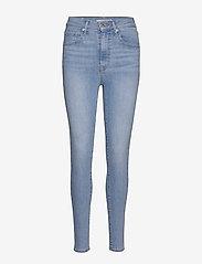 LEVI´S Women - MILE HIGH SUPER SKINNY BETWEEN - skinny jeans - light indigo - flat finis - 1