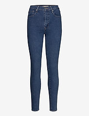 LEVI´S Women - MILE HIGH SUPER SKINNY GALAXY - skinny jeans - med indigo - flat finish - 1