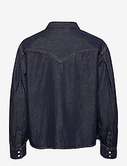 LEVI´S Women - PAYTON LS WESTERN TONGUE TWIST - denimskjorter - dark indigo - flat finish - 1