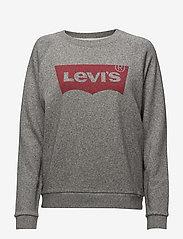 LEVI´S Women - RELAXED GRAPHIC CREW FLEECE BA - sweatshirts - greys - 0