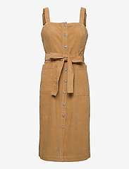LEVI´S Women - CALLA DRESS ICED COFFEE - midi kjoler - neutrals - 1