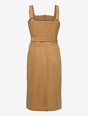 LEVI´S Women - CALLA DRESS ICED COFFEE - midi kjoler - neutrals - 2