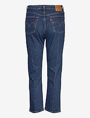 LEVI´S Women - 501 CROP CHARLESTON PRESSED - straight jeans - dark indigo - flat finish - 1