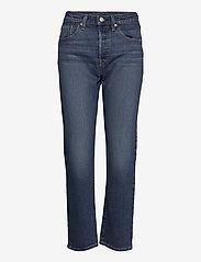 LEVI´S Women - 501 CROP CHARLESTON OUTLASTED - straight regular - dark indigo - worn in - 0